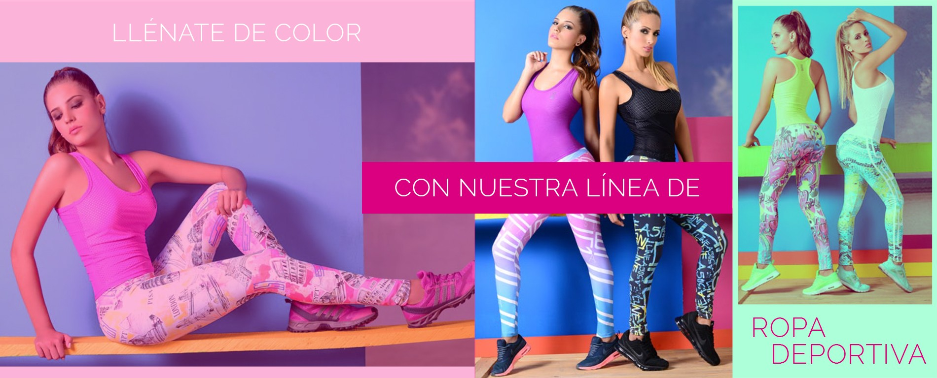 Ropa deportiva para mujer - Look Fit México